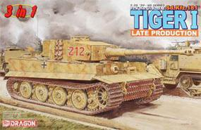 DML Tiger 1 Late Type Plastic Model Military Tank Kit 1/35 Scale #6253