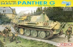 DML SdKfz 171 Panther G Late Tank Plastic Model Tank Kit 1/35 Scale #6268