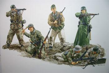 DML Desperate Defense Korsun Pocket 44 Gen 2 Plastic Model Military Figure Kit 1/35 Scale #627