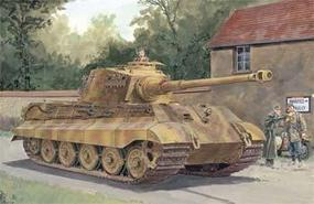 DML SdKfz 182 King Tiger Henschel Tank w/Zimmerit Plastic Model Tank Kit 1/35 #6303
