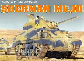 DML Sherman Mk.III Plastic Model Military Tank Kit 1/35 Scale #6313