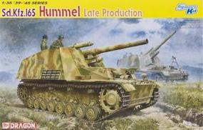 DML SdKfz 165 Hummel Late Production Tank Plastic Model Tank Kit 1/35 Scale #6321