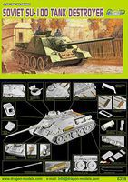 DML Russian SU-100 Tank Destroyer Plastic Model Military Kit 1/35 Scale #6359