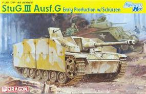 DML StuG III Ausf G Early Production Tank w/MG Shield Plastic Model Military Vehicle 1/35 #6365
