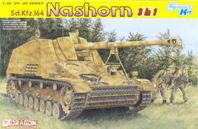 DML SdKfz 164 Nashorn Tank (3 in 1) Plastic Model Tank Kit 1/35 Scale #6386