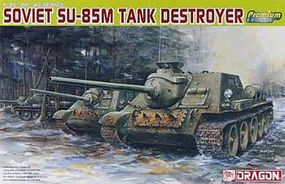 DML Soviet SU-85M Tank Destroyer Plastic Model Military Vehicle Kit 1/35 Scale #6415