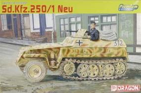 DML Sd.Kfz.250/1 NEU Armored Personnel Carrier Plastic Model Halftrack Kit 1/35 Scale #6427