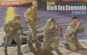 DML Soviet Black Sea Commando Crimea 1944 (4) Plastic Model Military Figure 1/35 Scale #6457