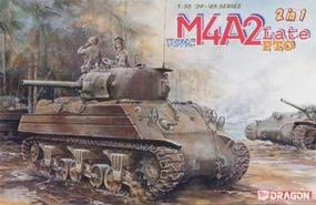 DML US Marines Sherman M4A2(W) PTO Plastic Model Tank Kit 1/35 Scale #6462