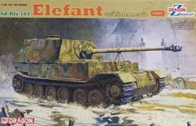 DML SdKfz 184 Elefant Tank w/Zimmerit Plastic Model Tank Kit 1/35 Scale #6465