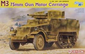 DML M3 75mm Gun Motor Carriage Plastic Model Halftrack Kit 1/35 Scale #6467