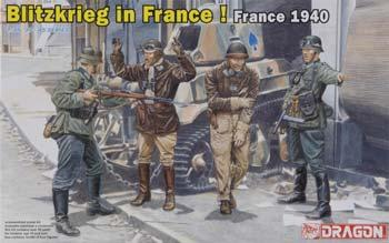 DRAGON 6347 1//35 Blitzkreig in the West France 1940
