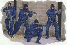 DML Los Angeles Police Swat Team Plastic Model Military Figure 1/35 Scale #6502