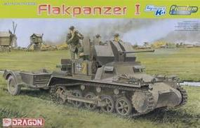 DML Flakpanzer I Armored Vehicle w/Trailer Plastic Model Armored Vehicle Kit 1/35 Scale #6577