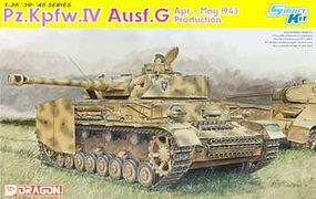 DML Pz.Kpfw.IV AUSF.G April-May 1943 Plastic Model Tank Kit 1/35 Scale #6594