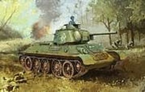 DML T34/76 Mod 1943 Tank w/Commanders Cupola Plastic Model Tank Kit 1/35 Scale #6603