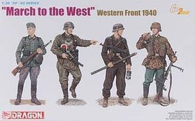 DML March to the West Soldiers Western Front 1940 Plastic Model Military Figure 1/35 #6703