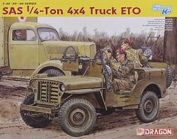 DML SAS Raider 1/4-Ton 4x4 Truck & 2nd SAS Rgmt. ETO 1944 Plastic Model Jeep Kit 1/35 #6