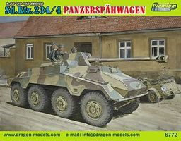 DML Sd.Kfz.234/4 Panzerspahwagen Plastic Model Tank Kit 1/35 Scale #6772