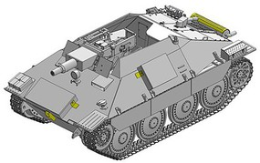 DML Vollkettenaufklaerer 38 w/ 7.5cm Kanone Plastic Model Military Vehicle Kit 1/35 Scale #6815