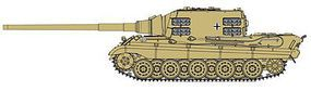 DML Jagdtiger with 12.8cm PaK.80 (L/66) Plastic Model Military Vehicle Kit 1/35 Scale #6827