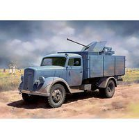DML German 3t 4x2 Truck w/2cm FlaK 38 Smart Kit Plastic Model Military Vehicle Kit 1/35 #6828