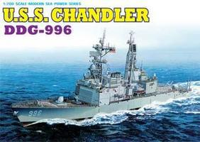 DML USS Chandler DDG996 Destroyer Plastic Model Destroyer Kit 1/700 Scale #7026