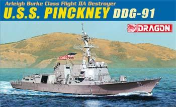 DML USS Pinckney DDG-91 Plastic Model Military Ship Kit 1/700 Scale #7057