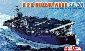 DML USS Belleau Wood (CVL-24) AC Plastic Model Military Ship Kit 1/700 Scale #7058