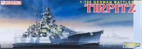 DML German Tirpitz Battleship Plastic Model Battleship Kit 1/700 Scale #7081