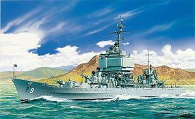 DML USS Long Beach CGN9 Nuclear Guided Missile Cruiser Plastic Model Military Ship 1/700 #7091
