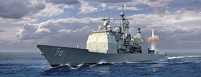 DML USS Lake Erie CG-70 Ticonderoga Class Plastic Model Military Ship Kit 1/700 Scale #7142