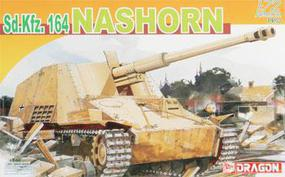 DML Nashorn Sd.Kfz.164 Armor Pro Series Plastic Model Military Vehicle Kit 1/72 Scale #7292