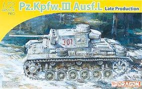 DML PzKpfw III Ausf L Late Production Tank Plastic Model Tank Kit 1/72 Scale #7385