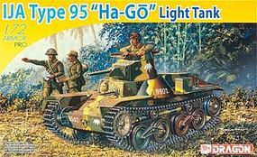 DML IJA Type 95 Ha Light Tank Philippines 1942 Plastic Model Military Tank Kit 1/72 #7394