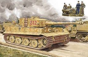 DML Pz.Kpfw. VI Aust.E Tiger w/Zimmerit Plastic Model Tank Kit 1/72 Scale #7440