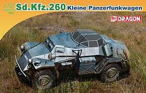 DML Sd.Kfz.260 kleine Panzerfunkwagen Plastic Model Armored Vehicle 1/72 Scale #7446