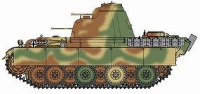 DML Flakpanzer 341 mit 2cm Flakvierling Plastic Model Tank Kit 1/72 Scale #7487