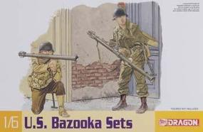 DML Bazooka Set M1 & M9 Plastic Model Military Weapons Kit 1/6 Scale #75008