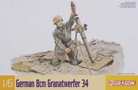 DML German 8cm Granatwerfer 34 Plastic Model Weapons Kit 1/6 Scale #75009