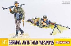 DML German Anti-Tank Weapons (3) Plastic Model Weapons Kit 1/6 Scale #75014