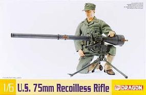 DML M20 75mm Recoilless Rifle Plastic Model Weapons Kit 1/6 Scale #75019
