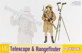 DML Telescope & Rangefinder Plastic Model Weapons Kit 1/6 Scale #75022