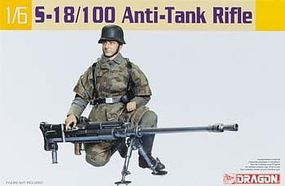 DML S18/100 Anti-Tank Rifle Plastic Model Weapons Kit 1/6 Scale #75032