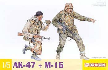 Dragon Models 1/6 AK-47 Vs M16 Gun
