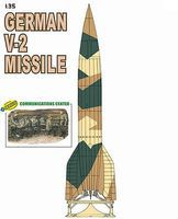 DML German V2 Missile & Comm Center with Crew Plastic Model Military Vehicle Kit 1/35 #9140