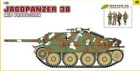 DML Jagdpanzer 38 (Hetzer) Mid Production Tank Plastic Model Tank Kit 1/35 Scale #9148