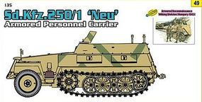 DML SdKfz 250/1 NEU with Recon Wiking Plastic Model Military Vehicle Kit 1/35 Scale #9149