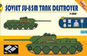 DML SU85M Soviet Tank Destroyer Plastic Model Military Vehicle Kit 1/35 Scale #9152