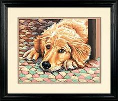 Dimensions Dog Tired Paint By Number Kit #73-91431